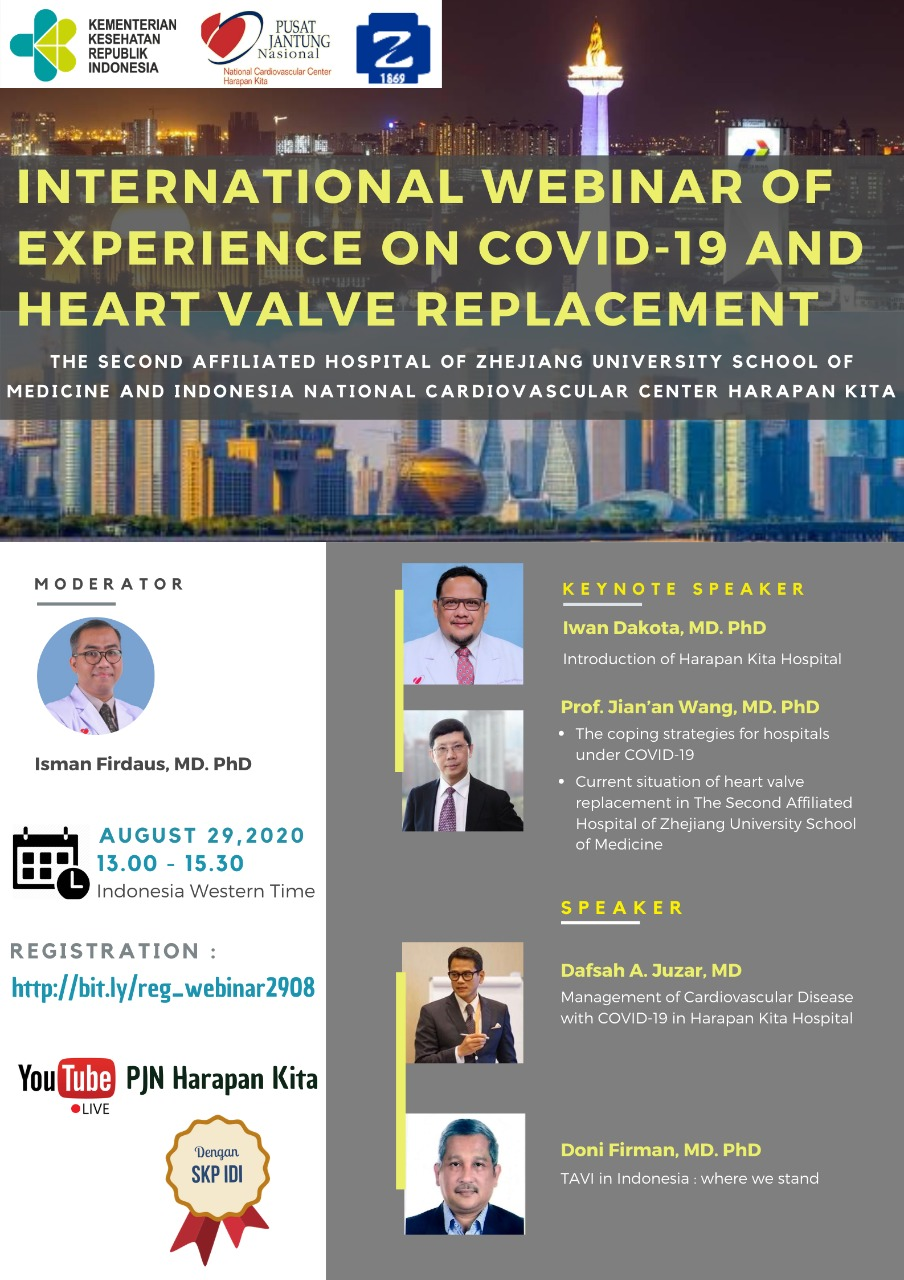 International Webinar of Experience on Covid-19 and Heart Valve Replacement