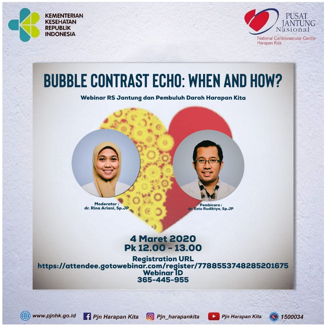 """Webinar """"Bubble Contrast Echo: When and How"""""""