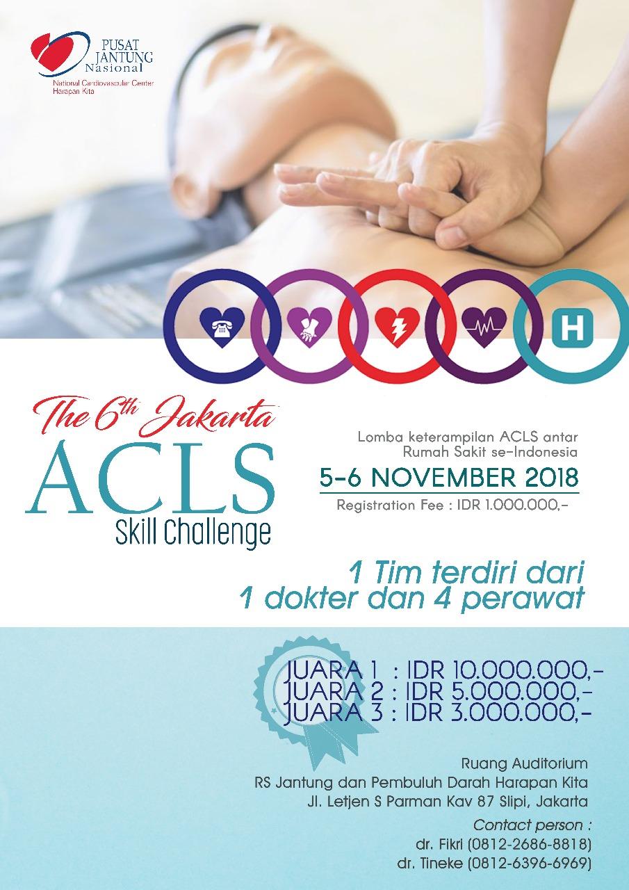 The 6th Jakarta ACLS Skill Challenge