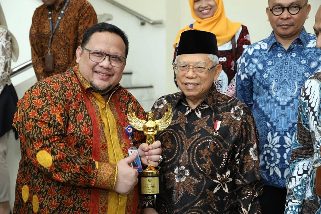 Menjadi Pemenang Top 3 Anugerah ASN 2019, Dirut RSJPDHK diundang ke Istana Wapres